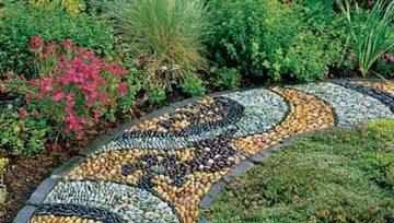 10 ý tưởng thiết kế giúp những lối đi trong vườn thêm độc đáo