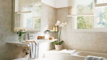 10 mẫu phòng tắm tuyệt vời với đồ dùng bằng gỗ
